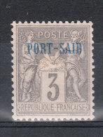 PORT-SAID YT 3 Neuf - Port-Saïd (1899-1931)