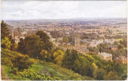 Malvern From The Hills By A R Quinton Colour Postcard - Salmon No 1335 (early - No Leaping Salmon) - Quinton, AR