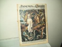 """Domenica Del Corriere (1958) N. 28 """" La Regina Tra I Minatori"""" - Unclassified"""