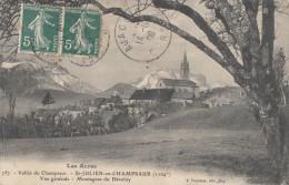 CPA - St Julien En Champsaur - Vue Générale - Montagnes Du Dévoluy - France