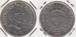 Filippine 1 Piso 2002 Km#269 - Used - Filippine
