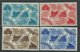 Cote Des Somalis N° 234 / 47  X  : Série De Londres Les 14 Valeurs Trace De Charnière Sinon TB - Non Classificati