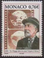 Monaco.2002.Jules Verne.1v..Michel.2619.MNH.21602 - Schriftsteller