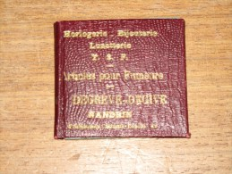 MIROIR DE POCHE PUBLICITAIRE - Horlogerie Bijouterie Lunetterie T.S.F. Articles Pour Fumeurs DEGREVE DEGIVE-NANDRIN - Jewels & Clocks