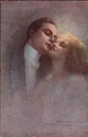 CPA - Couple Illustrée Par GUERINONI - Guerinoni