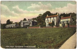 View From Culverhay, Wiveliscombe, Somerset Colour Postcard By Misch & Co - 1918 Or Earlier - Altri