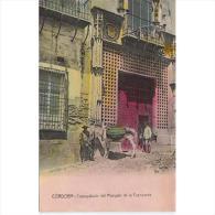 CDBTP5496-LFT3059.Tarjeta Postal DE CORDOBA.Edificios.burro.PALACIO DEL MARQUES DE LA FUENSANTA En  De Cordoba - Córdoba