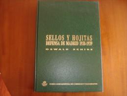 Sellos Y Hojitas - Defensa De Madrid - Literatura