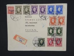 SLOVENIE-Enveloppe En Recommandée De Topol´cany Pour Paris En 1939  Affr Plaisant Avec Controle Postal  à Voir P6772 - Slovénie