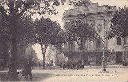 30 / ALAIS / LE THEATRE ET RUE JULES CAZOT / JOLIE CARTE - Alès