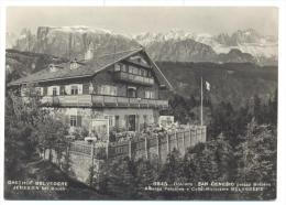 San Genesio  Albergo Pensione Belvedere   Viaggiata F.g. - Bolzano (Bozen)