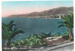 Sanremo Panorama E Golfo Viaggiata F.g. - Imperia