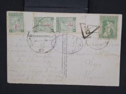 GRECE-Carte Postale Pour Alger Avec Controle Militaire  Aff Plaisant  à Voir P6782 - Grecia