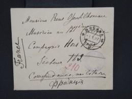 RUSSIE-Enveloppe En Franchse De Moscou Pour  La France En 1917  Avec Censure  à Voir P6784 - Covers & Documents