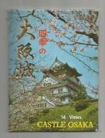 Cp , Japon , CASTLE OSAKA ,  CARNET DE 7 CARTES POSTALES - Osaka