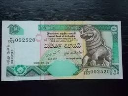 SRI LANKA -10 RUPEES- 2006- UNC - Sri Lanka