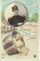ARDENNES 08. SEDAN MILITARIA ENVOYE DE SEDAN 17 MAI 1920 PERE CENT VIVE LA CLASSE ENCORE 24 JOURS - Sedan