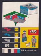 Lego - Plan Notice 518 519 520 521 ( Paquebot Avion Camion Train... ) - Planos