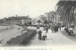 Cannes (Alpes-Maritimes) - Promenade De La Croisette Et Le Casino Municipal - Carte LL N°61 Non Circulée