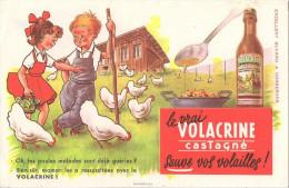 BUVARD LE VRAI VOLACRINE CASTAGNE SAUVE VOS VOLAILLES - Agriculture