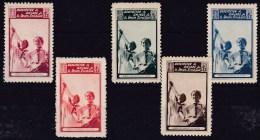 GUERRA CIVIL - Associacion De Amigos De La Union Soviética - Niños Españoles En Artek - Spanish Civil War Labels