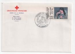 FR. Journée Du Timbre 27 Mars 1982 LA ROCHELLE. Sur Enveloppe CROIX ROUGE. - FDC