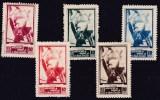 GUERRA CIVIL - Associacion De Amigos De La Union Soviética - Maniobras En Un Barco De Guerra - Spanish Civil War Labels