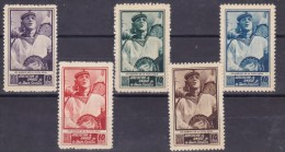 GUERRA CIVIL - Associacion De Amigos De La Union Soviética - Un Marino De La Flota Roja - Spanish Civil War Labels
