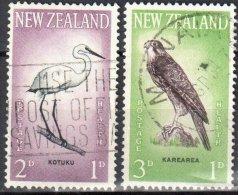 New Zealand 1961 - Mi.416-17 - Used - Nouvelle-Zélande