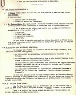 DOC #9 NOTE CONDITIONS ACCORD EN INDOCHINE POLITIQUE GUERRE - Historical Documents
