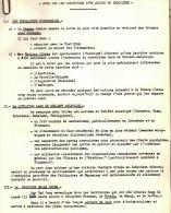 DOC #9 NOTE CONDITIONS ACCORD EN INDOCHINE POLITIQUE GUERRE - Documents Historiques