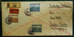 Bohemia & Moravia, Registred Letter-expresso - Bohemia & Moravia