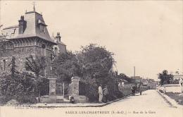 91.SAULX LES CHARTREUX. RUE DE LA GARE - Other Municipalities