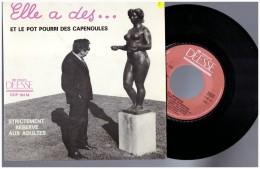 Les Capenoules Elle A Des Totottes Vinyle 45 Tours Patois Picard Ch Ti Ch Timi Lille - Humor, Cabaret