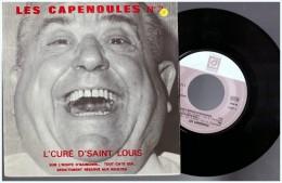 Les Capenoules 3  Raoul De Godewarsvelde   Vinyle 45 Toursl Cure De Saint Louis   Patois Picard Ch Ti Ch Timi Lille - Humor, Cabaret