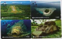 SOLOMON ISLANDS - 1st Issue Set Of 4 - MINT