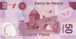 MEXICO P. 123h 50 P 2010 UNC - Mexico