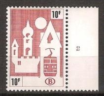 1987 Zegel Nr. TR461 Van Serie TR461 T/e/m TR465 Met Plaatnummer 2 ** MNH ! Inzet 5 € ! ZELDZAAM ! - 1952-....