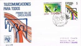 13431. Carta Exposicion CHESTE (Valencia) 1979.  Filatelia Juvenil - 1931-Hoy: 2ª República - ... Juan Carlos I