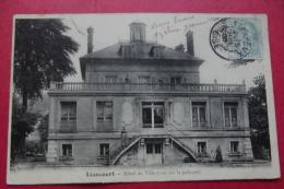 Cp Liancourt  Hotel De Ville  ( Vue Sur La Pelouse ) - Liancourt