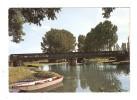 CPSM : 03 - COSNE D'ALLIER - Pont Sur L'Oeil : Barque - Cours D'eau -pont - Altri Comuni