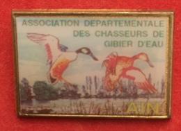 CHASSE ASSOCIATION DEPARTEMENTALE DE L AIN DES CHASSEURS DE GIBIERS D EAU - Badges