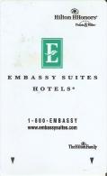 TARJETA DE HOTEL HILTON HHONORS (KEY CARD-LLAVE) - Cartas De Hotels