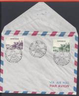 """VIET-NAM - ENVELOPPE 1er JOUR -  """" PAGODE DE THIU-MUE à HUE """" -  SAIGON - 15-5-1959 - - Vietnam"""