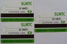 SIERRA LEONE - SLNTC - T1 - Set Of 3 - Used - RRR - Sierra Leone