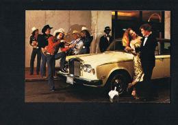 FAIRMONT HOTEL DALLAS- Auto  Car Roll Royces - Scans Recto Verso-PAYPAL FREE - Dallas