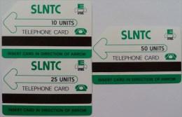 SIERRA LEONE - SLNTC - D1 - Set Of 3 - Used - RRR