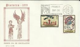 MADRID SPD FDC PINTURA 1975 CODICES ARTE RELIGION - Religieux