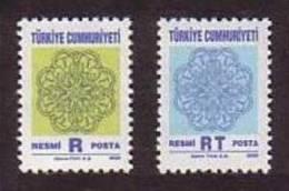 2000 TURKEY OFFICIAL STAMPS MNH ** - 1921-... République