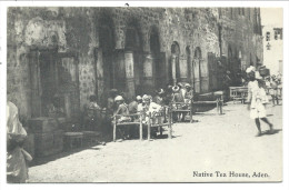 ///   CPA - Asie - YEMEN - ADEN - Native Tae House   // - Yémen